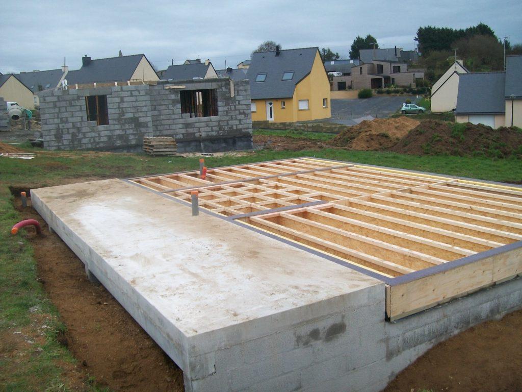 les fondations d 39 une maison bois