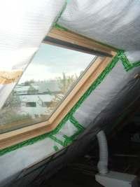 isolation des combles avec étanchéité à l'air et gestion des ponts thermiques