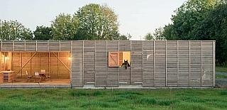 Magazine reportage sur maison bois Guingamp réalisée par BBC Bois