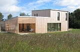maison passive sur Trégomeur, BBC Bois