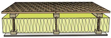dalle bois plancher d'étage