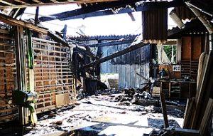 Photos incendie BBC Bois