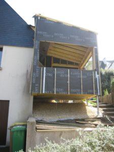 extension BBC bois sur pieux, Saint Brieuc