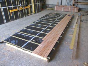 Fabrication mur ossature bois