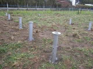 technopieux fondations métalliques écologiques maison bois BBC passives avec dalle bois